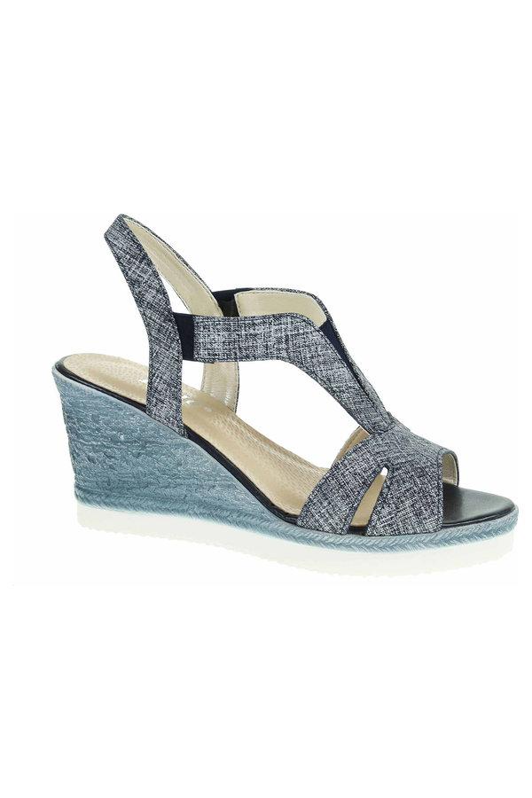 Modré sandály Rejnok Dovoz