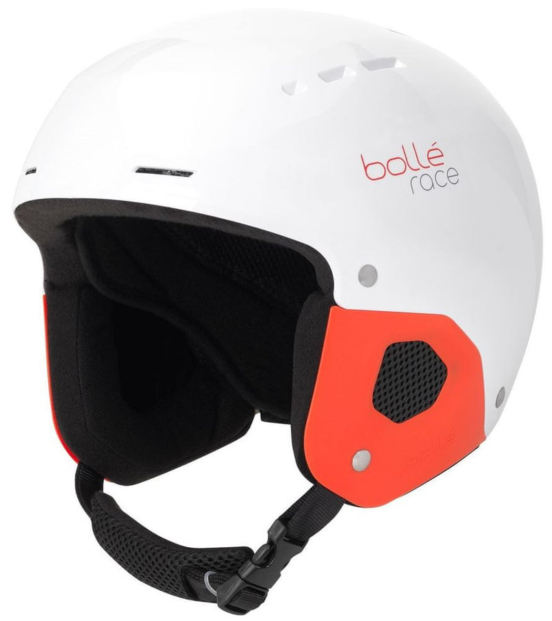 Bílá dětská lyžařská helma Bollé - velikost 52-55 cm