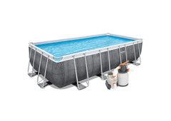 Nadzemní obdélníkový bazén Bestway - délka 549 cm, šířka 274 cm a výška 122 cm