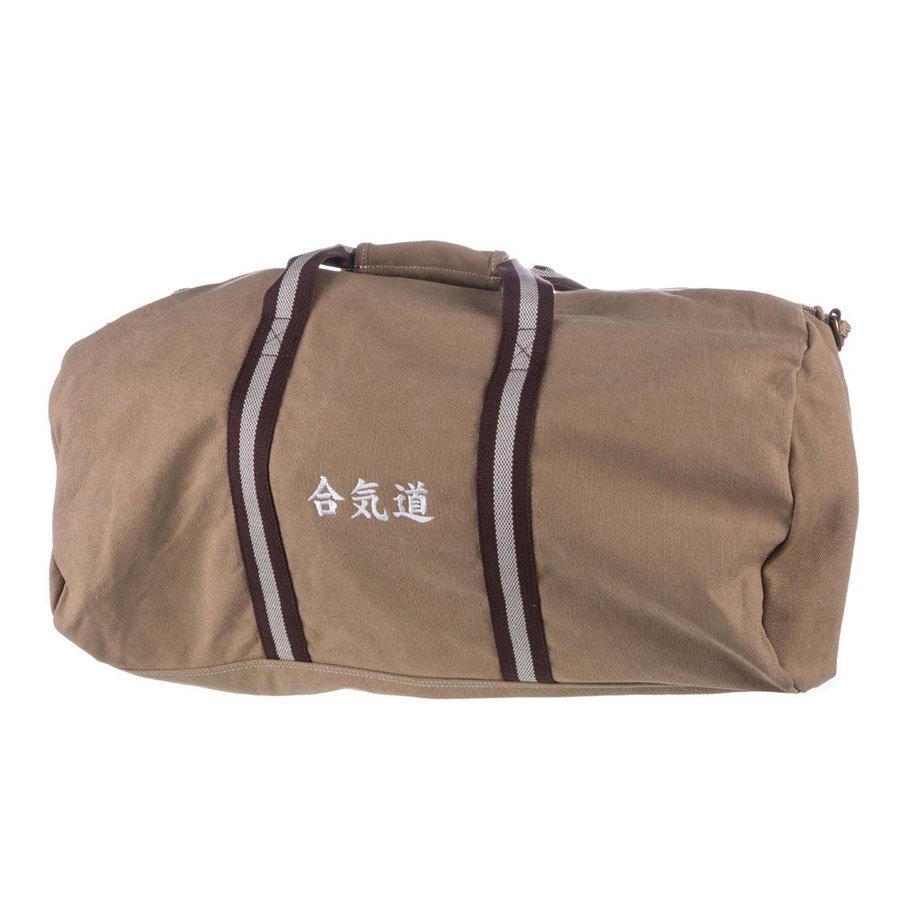 Béžová sportovní taška Hayashi - objem 45 l