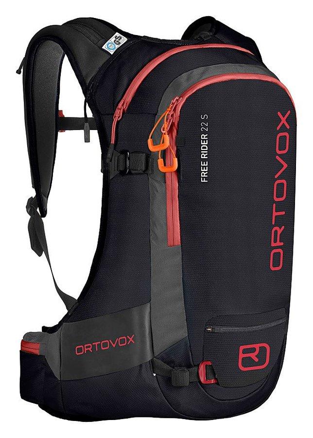 Černý skialpový batoh Ortovox - objem 22 l