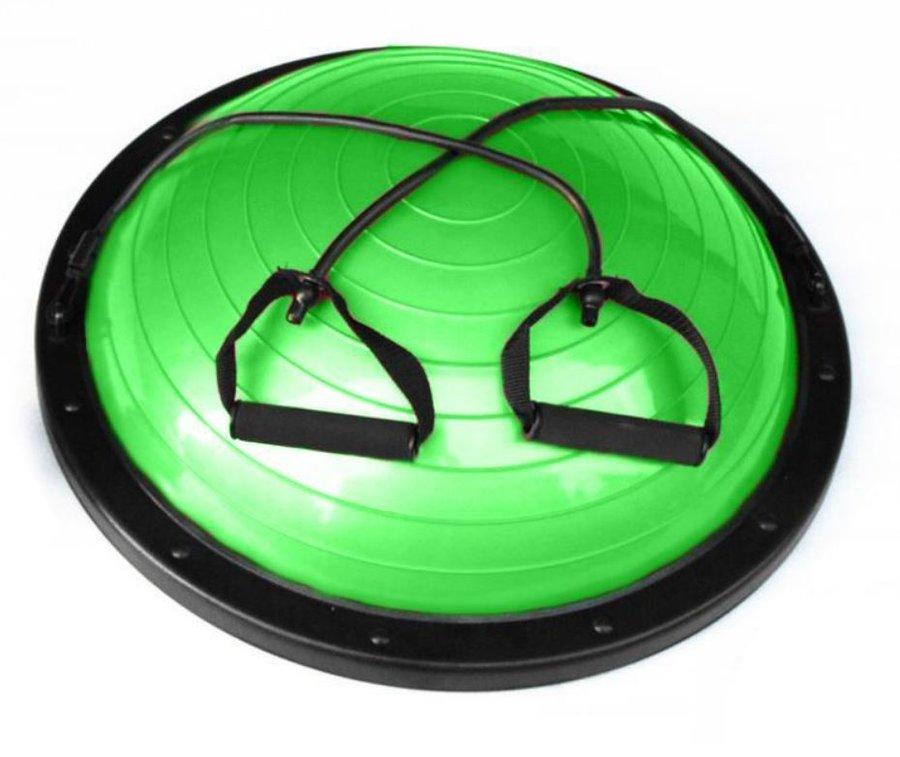 Zelená balanční podložka s gumovými expandéry Sedco