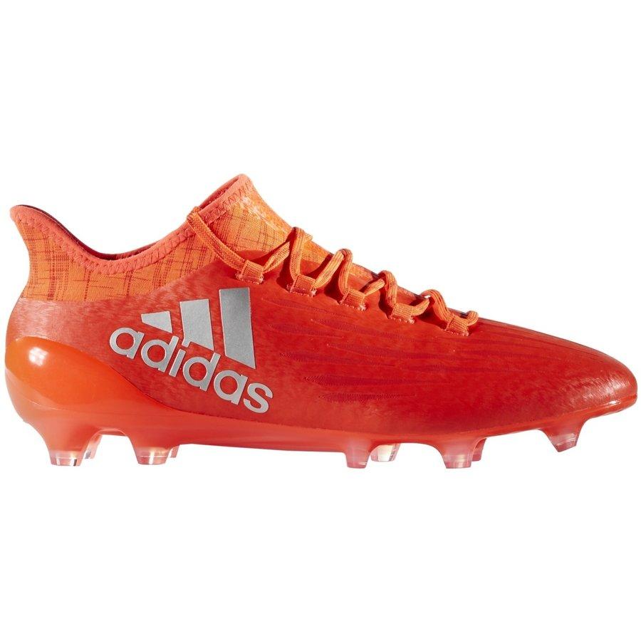 Oranžové kopačky lisovky X 16.1 FG, Adidas - velikost 44 EU