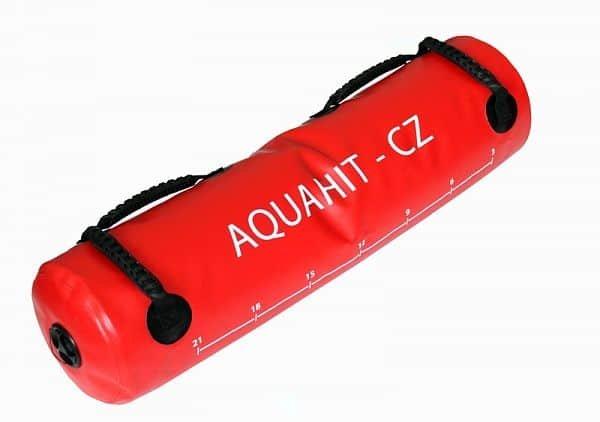 Červený posilovací vak Soft, Aquahit - 20 kg