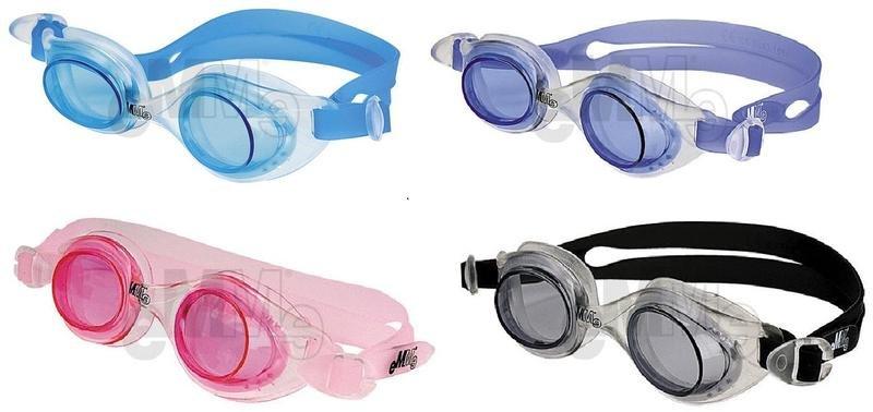 Růžové dětské plavecké brýle BEIJING, Emme