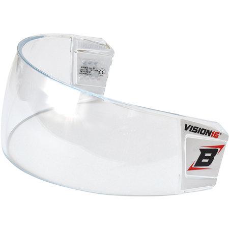 Plexi na hokejovou helmu - Plexi Bosport Vision16 STD B5 čirá (průhledná)
