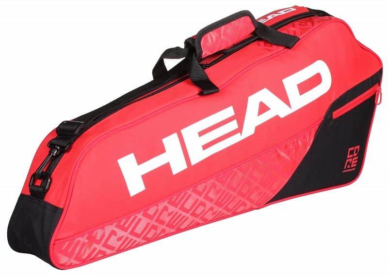 Tenisová taška - Core 3R Pro 2019 taška na rakety barva: červená-černá