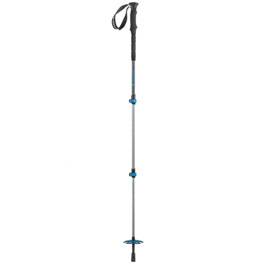 Stříbrná trekingová hůl Plixi, Ferrino - délka 135 cm