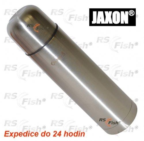 Stříbrná termoska Jaxon - objem 0,75 l