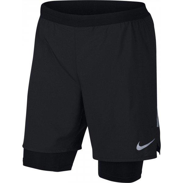 Černé pánské běžecké kraťasy Nike