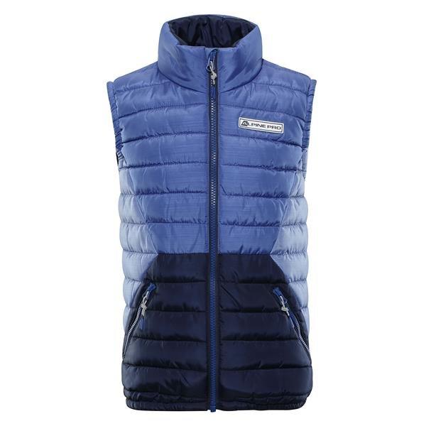 Modrá dětská zimní vesta Alpine Pro