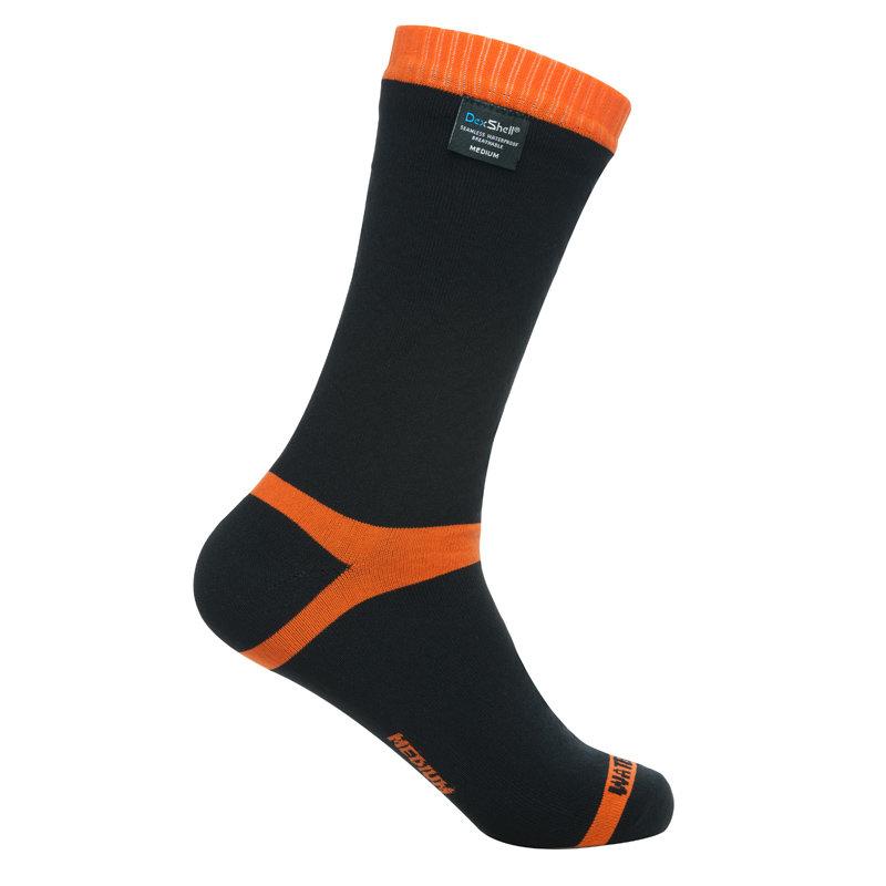 Černo-oranžové pánské trekové ponožky