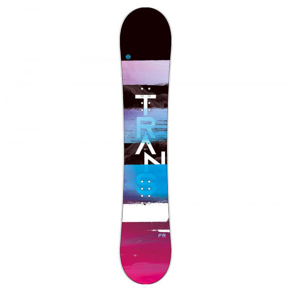 Modro-růžový pánský snowboard bez vázání Trans