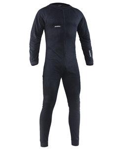Černé jednodílné hokejové ribano Salming