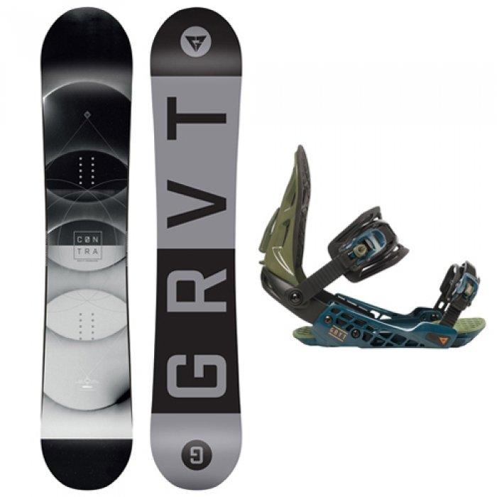 Snowboard s vázáním Gravity