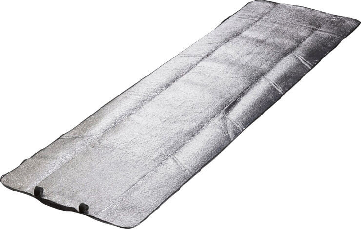 Stříbrná karimatka Yate - tloušťka 0,3 cm