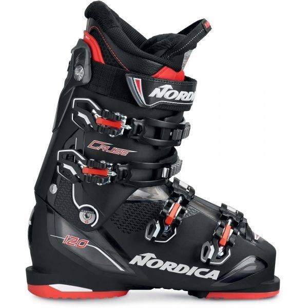 Černé pánské lyžařské boty Nordica - velikost vnitřní stélky 29 cm