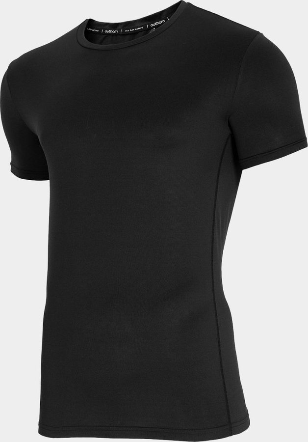 Černé pánské funkční tričko s krátkým rukávem Outhorn