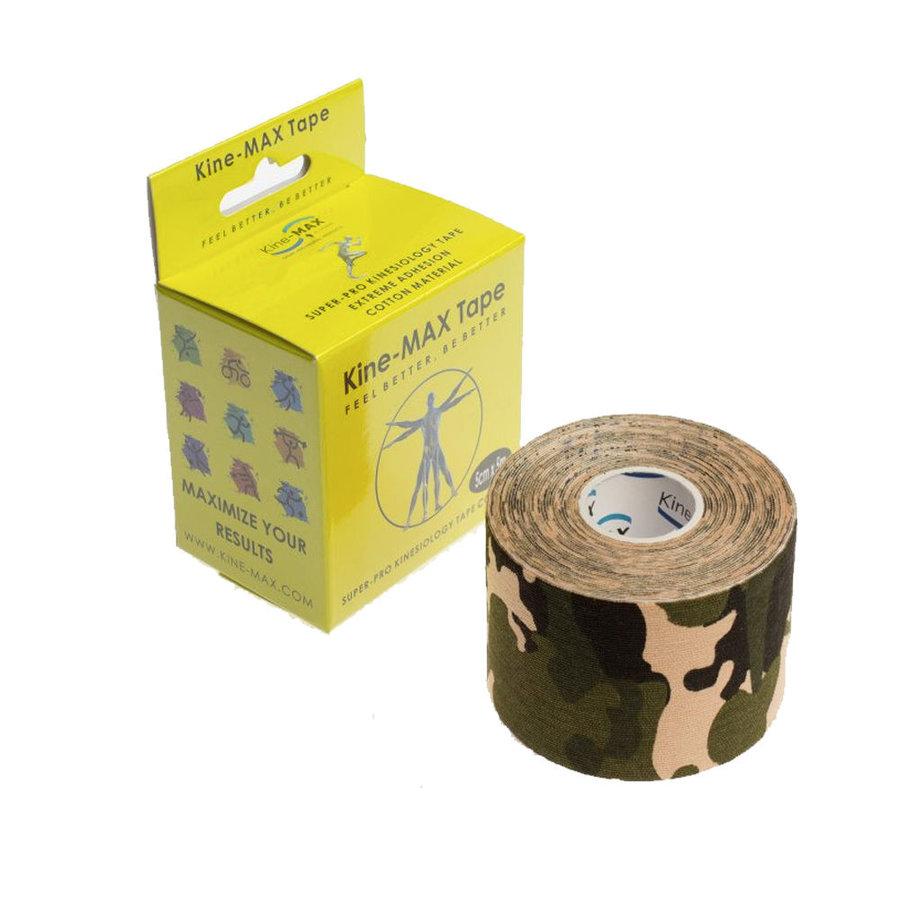 Maskáčová tejpovací páska kine-max - délka 5 m a šířka 5 cm