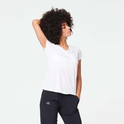 Bílé dámské běžecké tričko Kalenji
