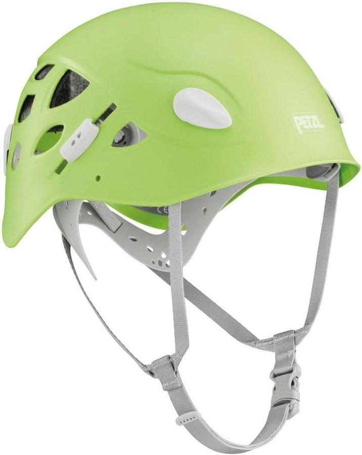 Zelená horolezecká helma Petzl - velikost 50-58 cm