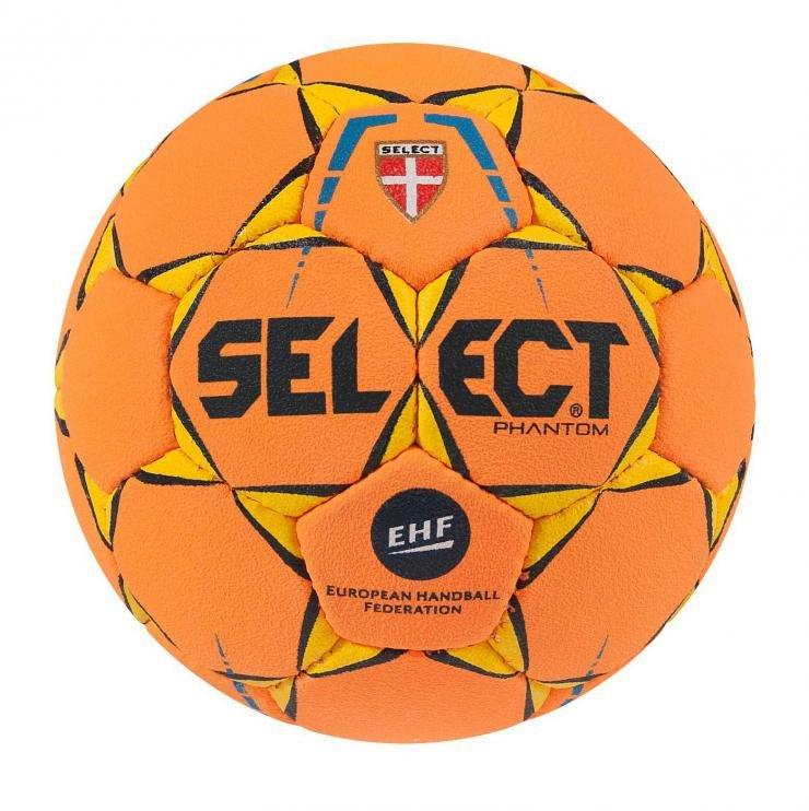 Oranžový míč na házenou PHANTOM MINI, Select - velikost 0