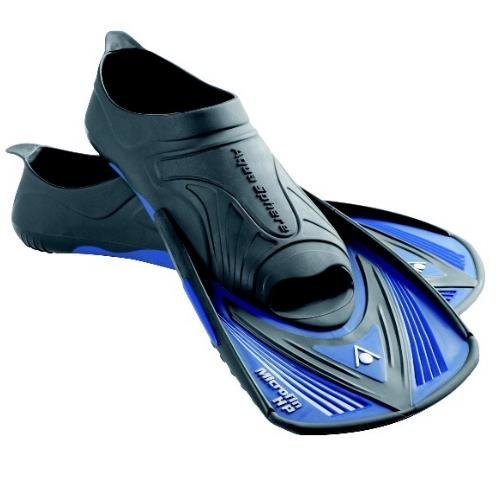 Modré plavecké krátké ploutve Microfin HP, Aqua Sphere