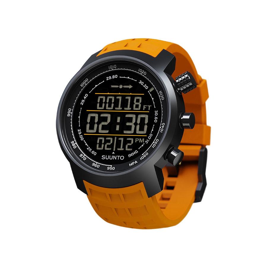 Oranžové digitální hodinky Elemenum Terra, Suunto