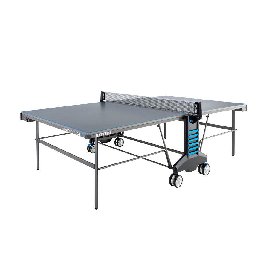 Modro-šedý vnitřní stůl na stolní tenis INDOOR 4, Kettler