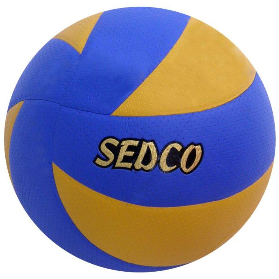 Modro-žlutý volejbalový míč Mistral 33, Sedco - velikost 5