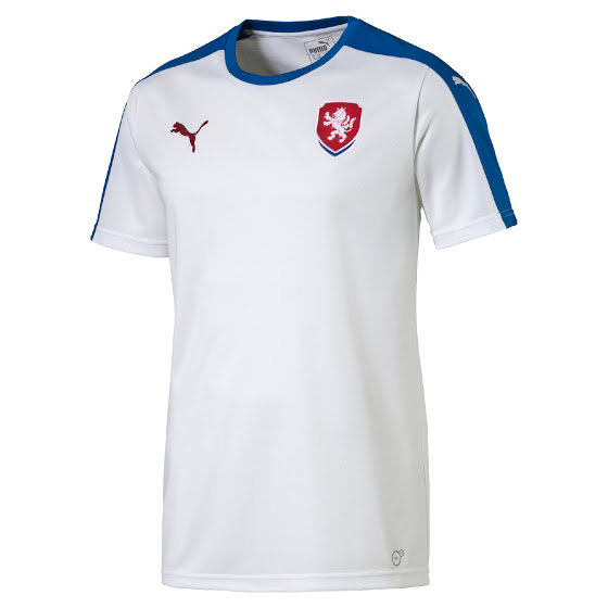 "Bílý fotbalový dres ""Česká reprezentace"", Puma"
