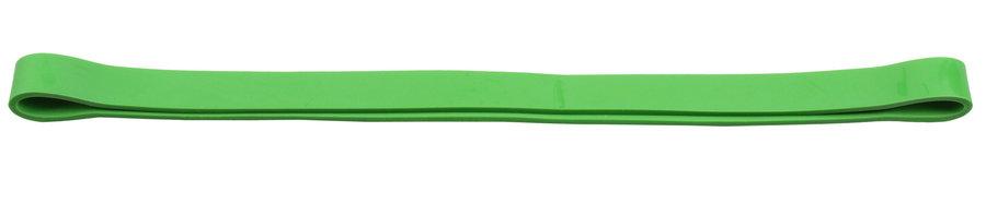 Posilovací guma - Merco Aerobic O Band posilovací guma 52x1,2 cm zelená