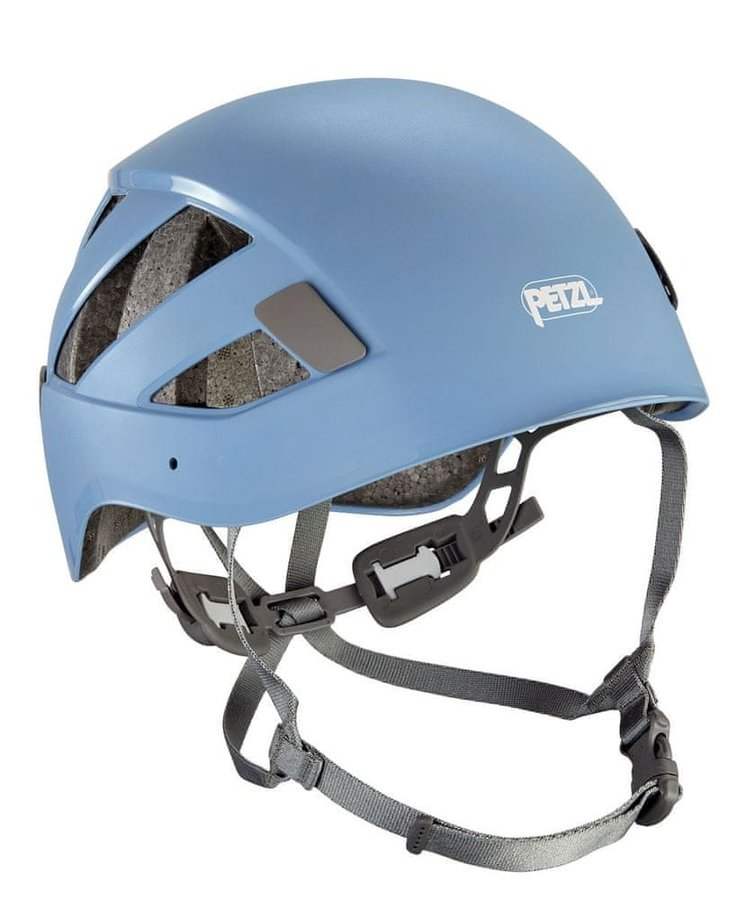 Modrá horolezecká helma Petzl - velikost 48-58 cm