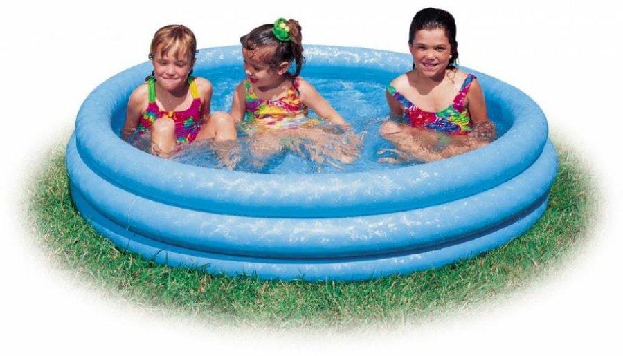 Dětský nafukovací nadzemní kruhový bazén INTEX - průměr 147 cm a výška 33 cm
