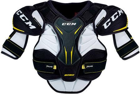 Bílo-černý hokejový chránič ramen - senior CCM