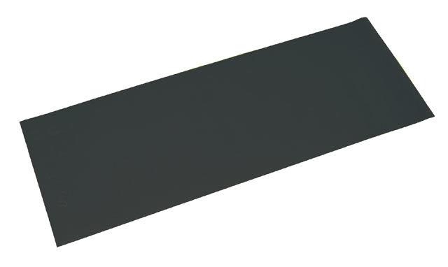 Černá podložka na cvičení Acra - tloušťka 0,4 cm