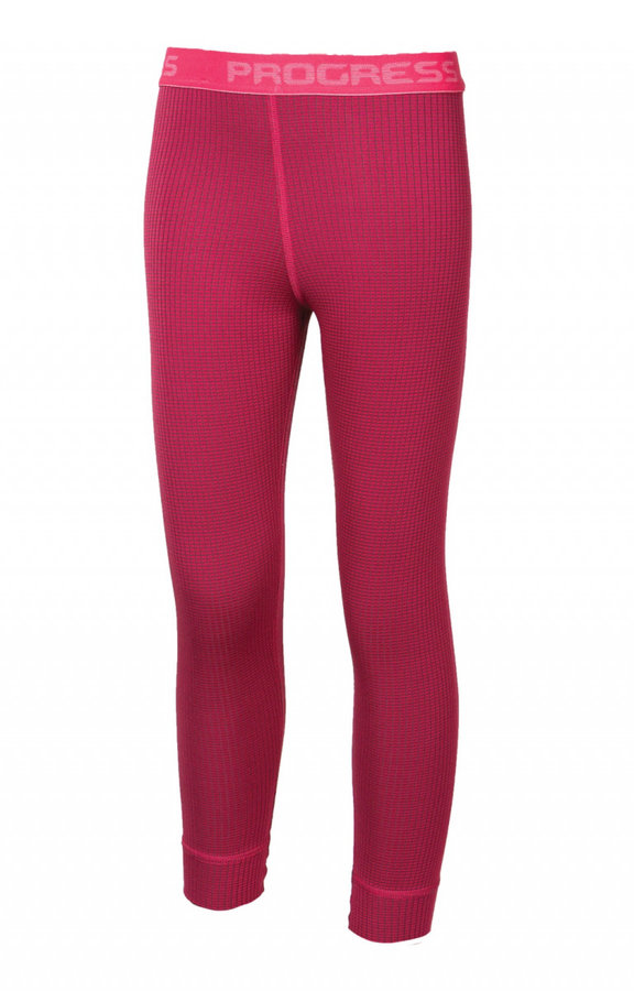 Růžové dívčí funkční kalhoty Progress