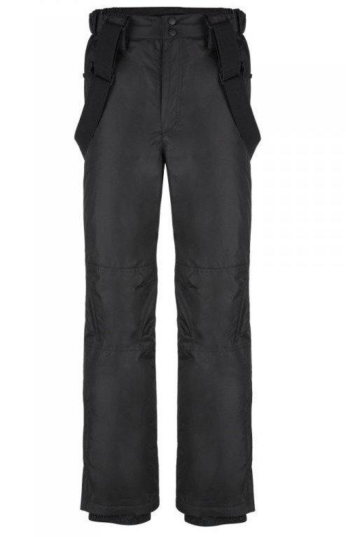 Černé pánské lyžařské kalhoty Loap