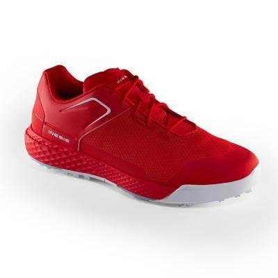 Červené pánské golfové boty Grip Dry, Inesis