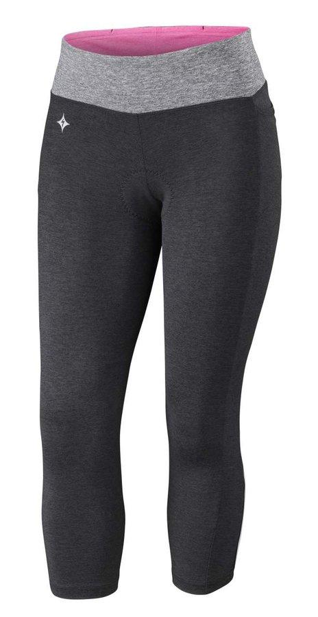 3/4 dlouhé dámské cyklistické kalhoty s vložkou Specialized - velikost L