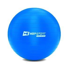 Modrý gymnastický míč Hop-Sport - průměr 65 cm