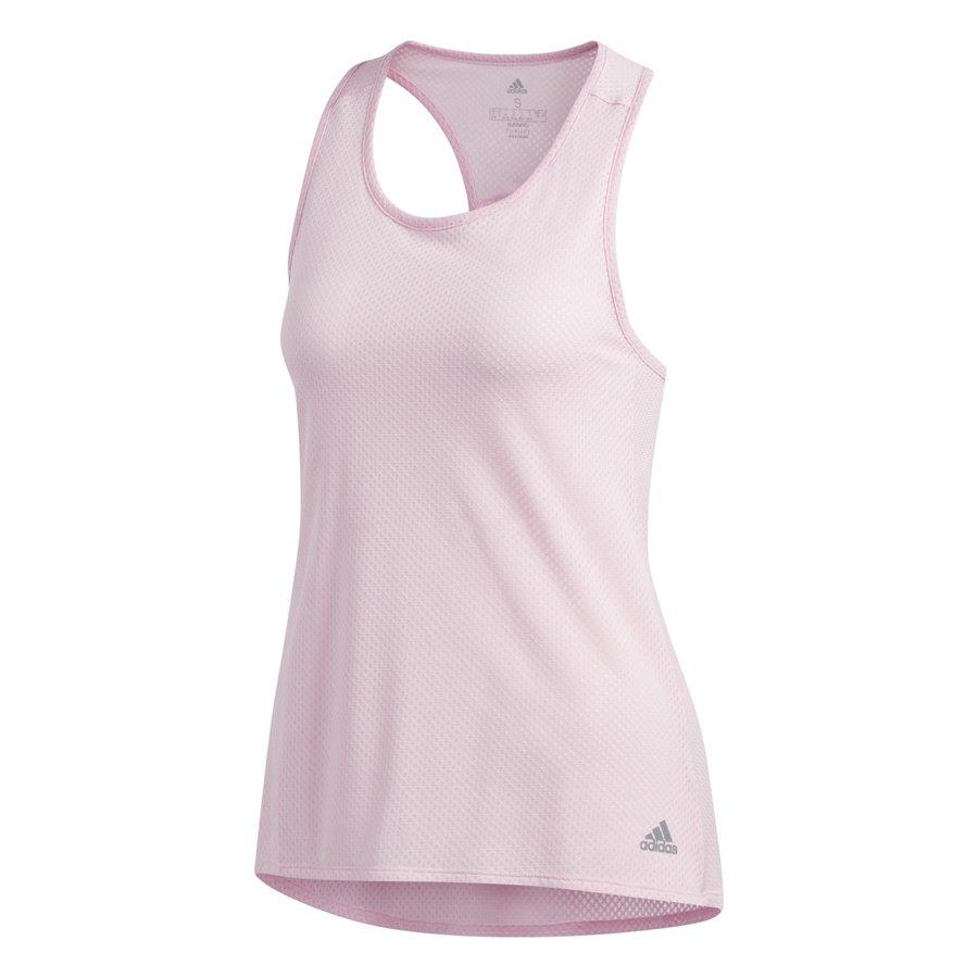 Růžové dámské běžecké tílko Adidas - velikost S