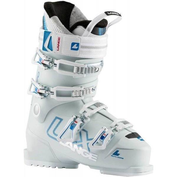 Bílé dámské lyžařské boty Lange