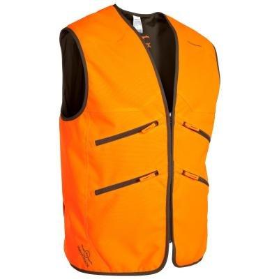 Oranžová lovecká vesta Solognac