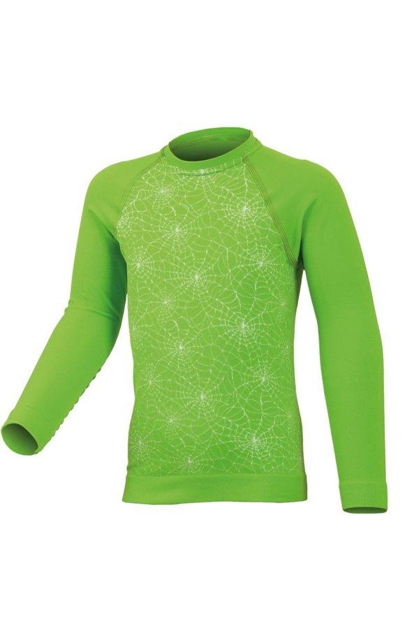 Zelené dětské chlapecké nebo dívčí termo tričko s dlouhým rukávem Lasting - velikost 158
