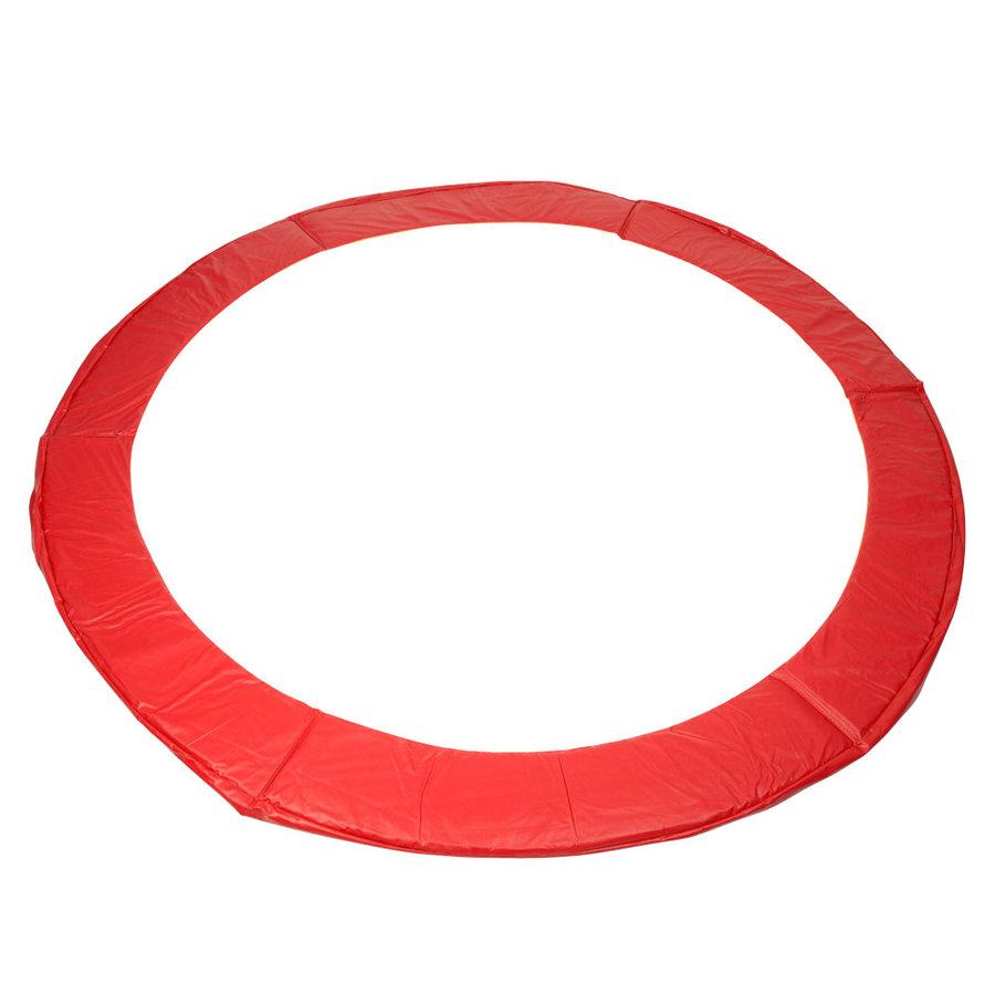 Červený kryt pružin na trampolínu inSPORTline - průměr 183 cm a šířka 22 cm