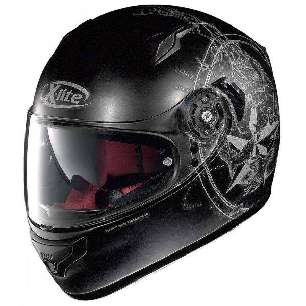 Helma na motorku Sirene N-Com Flat, X-lite
