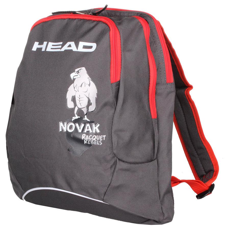 Šedý tenisový batoh Head