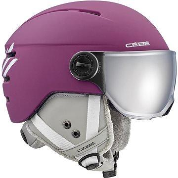 Fialová dětská lyžařská helma CÉBÉ