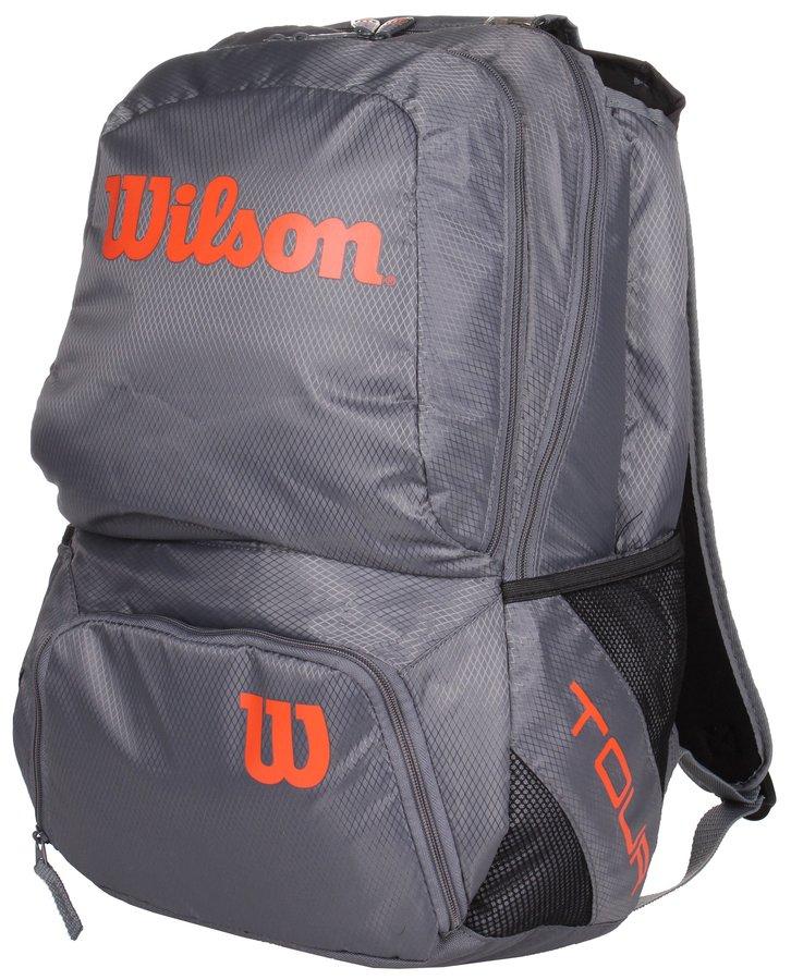 Šedý tenisový batoh Wilson